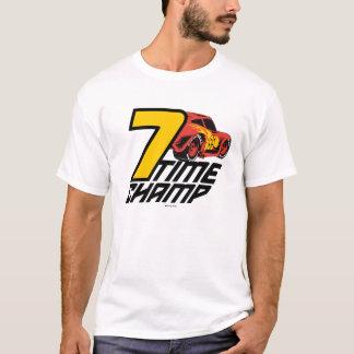 Cars 3   Lightning McQueen - 7 Time Champ T-Shirt