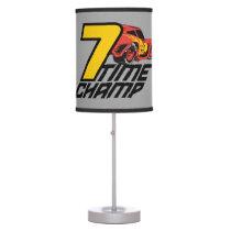 Cars 3 | Lightning McQueen - 7 Time Champ Table Lamp