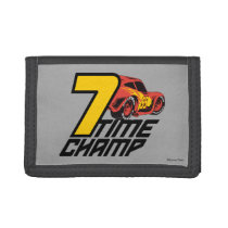 Cars 3 | Lightning McQueen - 7 Time Champ Tri-fold Wallet