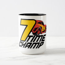 Cars 3 | Lightning McQueen - 7 Time Champ Two-Tone Coffee Mug