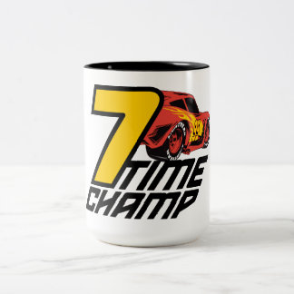 Cars 3 | Lightning McQueen - 7 Time Champ Two-Tone Coffee Mug
