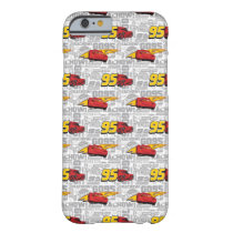 Cars 3 | Lightning McQueen 95 Pattern Barely There iPhone 6 Case