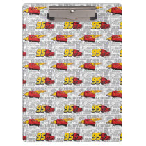 Cars 3 | Lightning McQueen 95 Pattern Clipboard