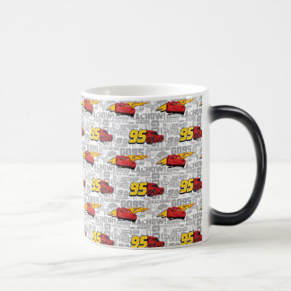 Cars 3 | Lightning McQueen 95 Pattern Magic Mug
