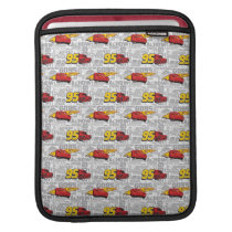 Cars 3 | Lightning McQueen 95 Pattern Sleeve For iPads