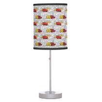 Cars 3 | Lightning McQueen 95 Pattern Table Lamp