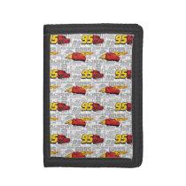 Cars 3 | Lightning McQueen 95 Pattern Trifold Wallet
