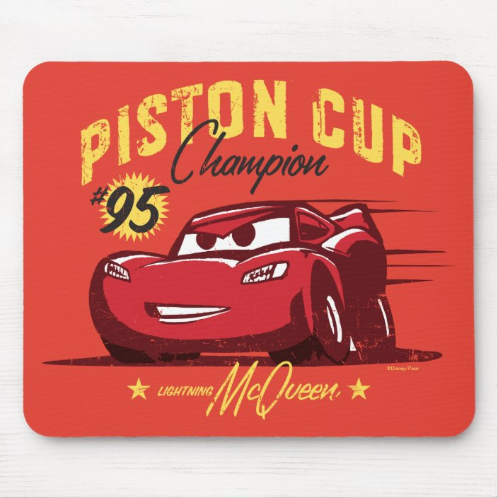 Cars 3 Lightning Mcqueen 95 Piston Cup Champ Mouse Pad
