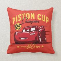 Cars 3 | Lightning McQueen - #95 Piston Cup Champ Throw Pillow