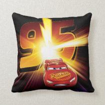 Cars 3 | Lightning McQueen 95 Throw Pillow