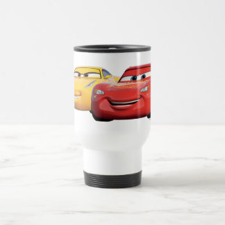 Cars 3 | Lightning McQueen & Cruz Ramirez Travel Mug