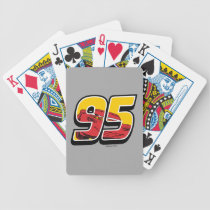 Cars 3 | Lightning McQueen Go 95 Bicycle Playing Cards