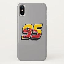 Cars 3 | Lightning McQueen Go 95 iPhone X Case