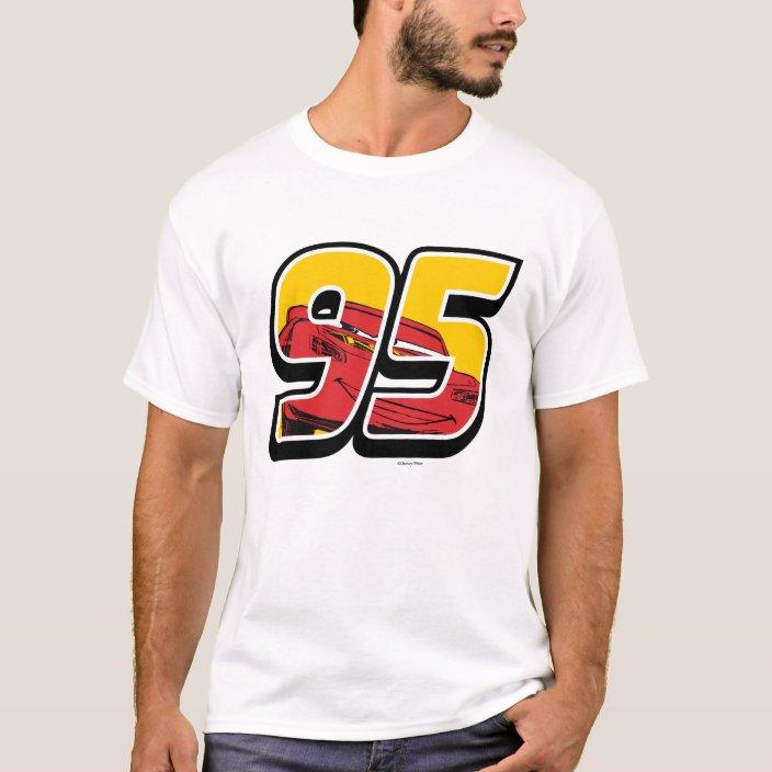 Cars 3 Lightning Mcqueen Go 95 T Shirt Zazzle Com