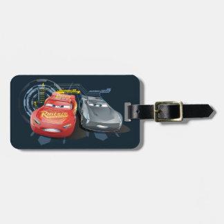 Cars 3 | Lightning McQueen & Jackson Storm Bag Tag