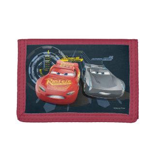 Cars 3   Lightning McQueen & Jackson Storm Tri-fold Wallet