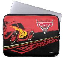 Cars 3 | Lightning McQueen - Let's Race Laptop Sleeve