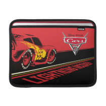 Cars 3 | Lightning McQueen - Let's Race Sleeve For MacBook Air
