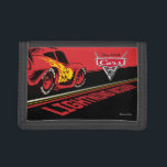 """Cars 3   Lightning McQueen - Let&#39;s Race Tri-fold Wallet<br><div class=""""desc"""">Cars 3: Blinded by a new generation of blazing fast racers, the legendary Ligntning McQueen is suddenly pushed out of the sport he loves. To get back in the game, he will need the help of an eager young race technician who has her own plan to win, inspiration from the...</div>"""