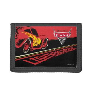 Cars 3   Lightning McQueen - Let's Race Tri-fold Wallet