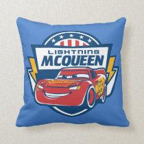 Cars 3 | Lightning McQueen - Lightning Fast Throw Pillow