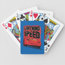 Cars 3 | Lightning McQueen - Lightning Speed Bicycle Playing Cards