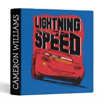 Cars 3 | Lightning McQueen - Lightning Speed Binder