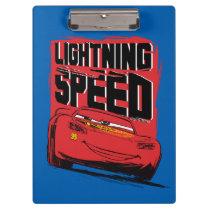 Cars 3 | Lightning McQueen - Lightning Speed Clipboard