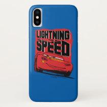 Cars 3 | Lightning McQueen - Lightning Speed iPhone X Case