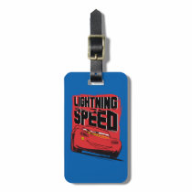 Cars 3 | Lightning McQueen - Lightning Speed Luggage Tag