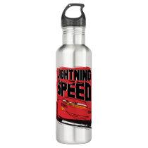 Cars 3 | Lightning McQueen - Lightning Speed Stainless Steel Water Bottle