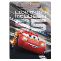Cars 3 | Lightning McQueen - Pack Leader Clipboard