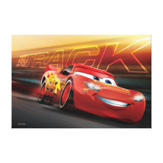 Cars 3 | Lightning McQueen - See You on the Track Canvas Print