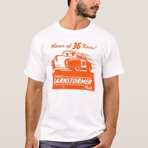 Cars 3 | Louise Barnstormer Nash - 36 Races T-Shirt
