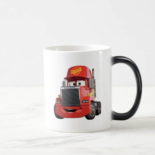 Cars 3 | Mack Magic Mug.Cars 3 | Mack Magic Mug Cars 3: Blinded by a new generation of blazing fast racers, the legendary Ligntning McQueen is suddenly pushed out of the sport he loves. To get back in the game, he will need the help of an eager young race technician who has her own plan to win, inspiration from the Fabulous Hudson Hornet, and a few unexpected turns. Proving that #95 isn't through yet, this Piston Cup will test the heart of a champion on racing's biggest stage.