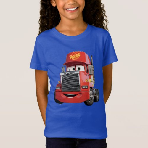 Cars 3 | Mack T-Shirt.Cars 3: Blinded by a new generation of blazing fast racers, the legendary Ligntning McQueen is suddenly pushed out of the sport he loves. To get back in the game, he will need the help of an eager young race technician who has her own plan to win, inspiration from the Fabulous Hudson Hornet, and a few unexpected turns. Proving that #95 isn't through yet, this Piston Cup will test the heart of a champion on racing's biggest stage.
