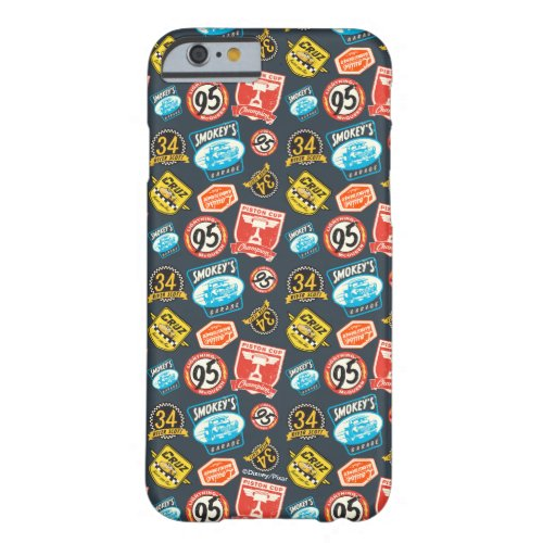 Cars 3 | Piston Cup Champion Pattern Barely There iPhone 6 Case