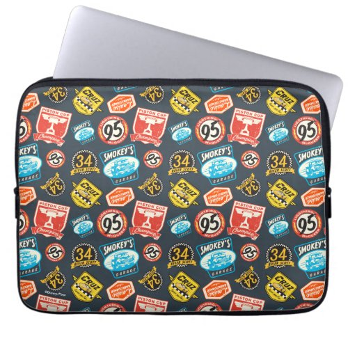 Cars 3 | Piston Cup Champion Pattern Computer Sleeve