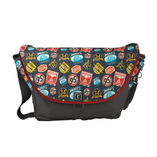Cars 3 | Piston Cup Champion Pattern Courier Bag