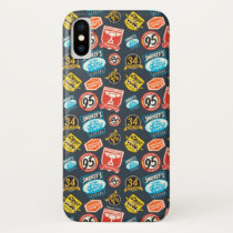 Cars 3 | Piston Cup Champion Pattern iPhone X Case