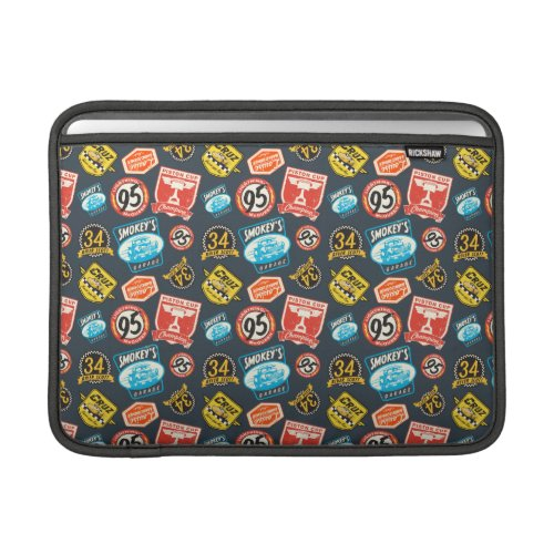 Cars 3 | Piston Cup Champion Pattern MacBook Air Sleeve.A slim line sleeve with super protection – meet the Rickshaw MacBook Air sleeve. Made with water resistant fabrics and an ultra-plush padded liner, this sleeve delivers protection while beautifully displaying your artwork and text. Made in San Francisco, CA with a focus on environmentally sustainable production, the Rickshaw MacBook Air sleeve is a simple, stylish, and sustainable solution for protecting your MacBook.