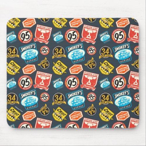 Cars 3 | Piston Cup Champion Pattern Mouse Pad