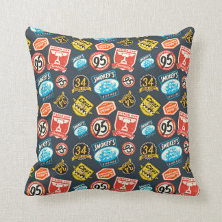 Cars 3   Piston Cup Champion Pattern Throw Pillow