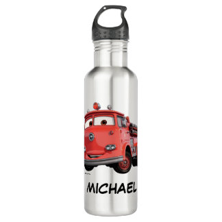 Cars 3 | Red Stainless Steel Water Bottle