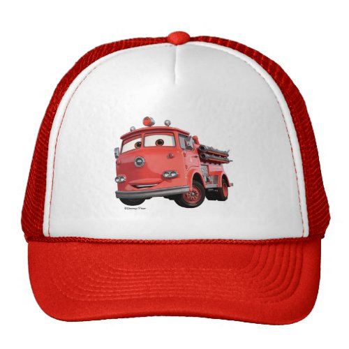 Cars 3 | Red Trucker Hat.Cars 3: Blinded by a new generation of blazing fast racers, the legendary Ligntning McQueen is suddenly pushed out of the sport he loves. To get back in the game, he will need the help of an eager young race technician who has her own plan to win, inspiration from the Fabulous Hudson Hornet, and a few unexpected turns. Proving that #95 isn't through yet, this Piston Cup will test the heart of a champion on racing's biggest stage.