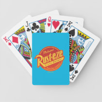 Cars 3 | Rust-eze Logo Bicycle Playing Cards