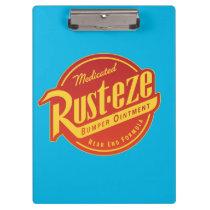 Cars 3 | Rust-eze Logo Clipboard