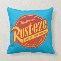 Cars 3 | Rust-eze Logo Throw Pillow