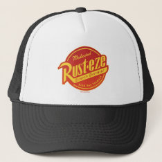 Cars 3 | Rust-eze Logo Trucker Hat at Zazzle