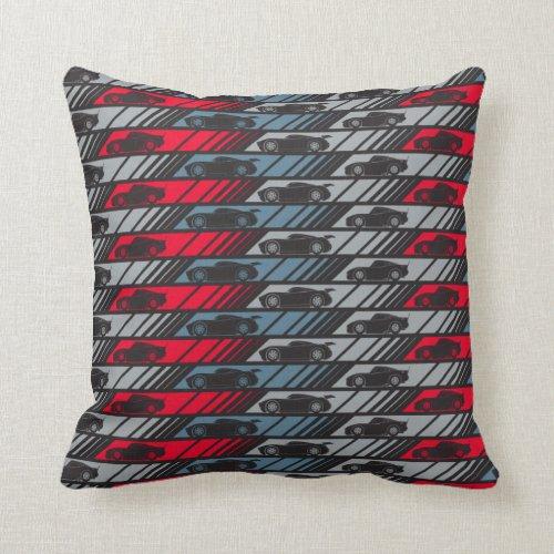 Cars 3 | Speeding Ahead Pattern Throw Pillow